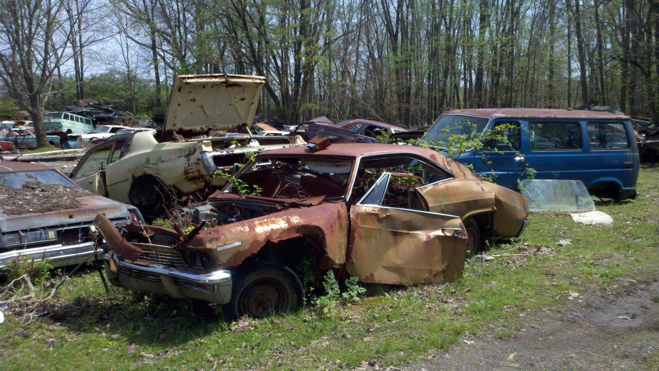 Junkyard pictures - Impala Tech